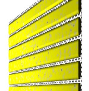 Grating-Graphene Metamaterial as a Platform for Terahertz Nonlinear Photonics